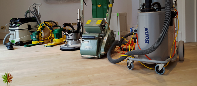 Commercial and Residential Flooring Specialists Sanding Equipment