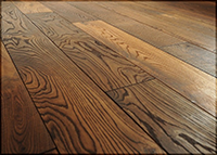 Engineered wood floor floating and non-floating installation
