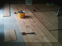 Glue down flooring London - Surrey