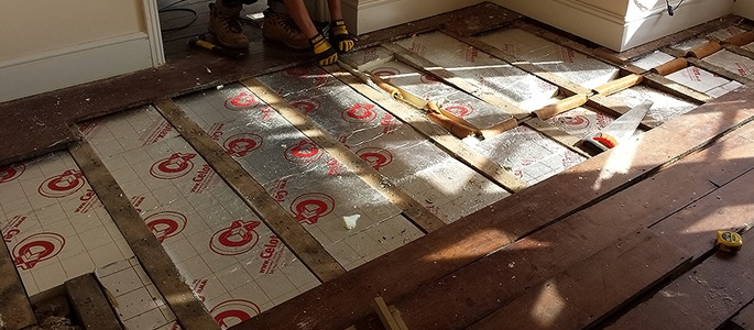 Insulating Suspended Timber Floors London And Surrey