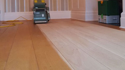 oak floor renovation surrey