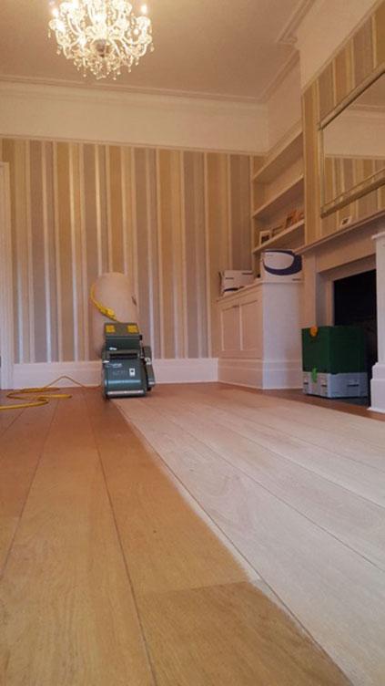 Oak Floor Renovation And Restoration In London And Surrey